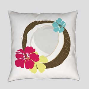Tropical Coconut Everyday Pillow