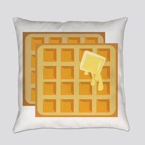 Buttered Waffles Everyday Pillow
