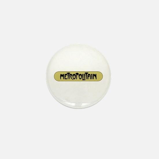 Metro Paris, France Mini Button