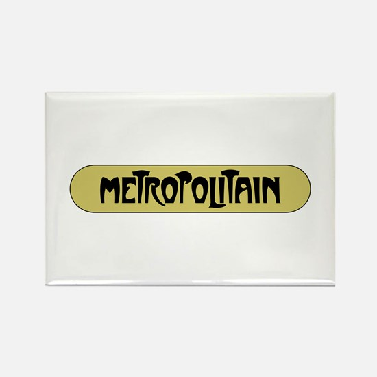 Metro Paris, France Rectangle Magnet
