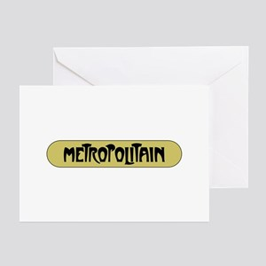 Metro Paris, France Greeting Cards (Pk of 10)