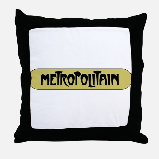 Metro Paris, France Throw Pillow