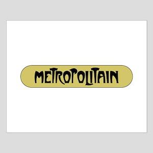 Metro Paris, France Small Poster