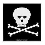 Jolly Pirate Tile Coaster