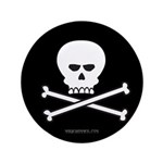 Jolly Pirate Button