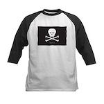Jolly Pirate Kids Baseball Jersey