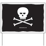 Jolly Pirate Yard Sign