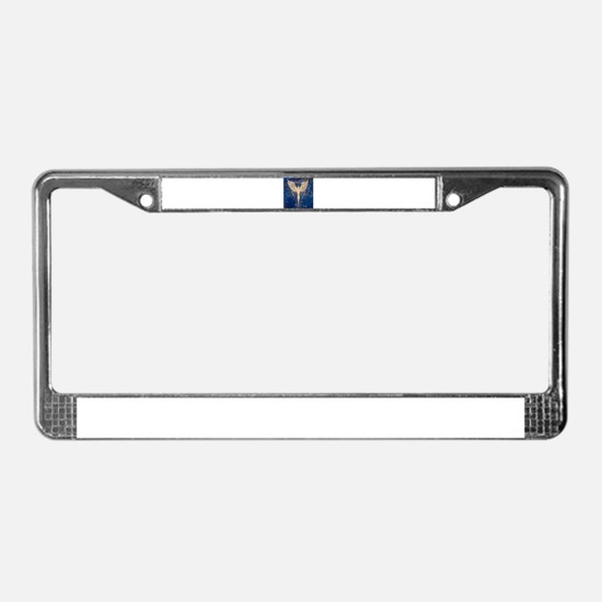 Angel Aura License Plate Frame