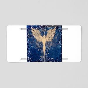 Angel Aura Aluminum License Plate