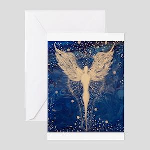 Angel Aura Greeting Cards
