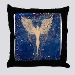 Angel Aura Throw Pillow