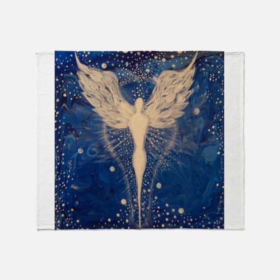 Angel Aura Throw Blanket