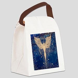 Angel Aura Canvas Lunch Bag
