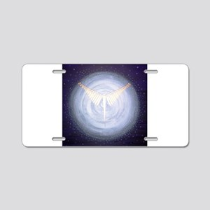 Angel Collector Aluminum License Plate
