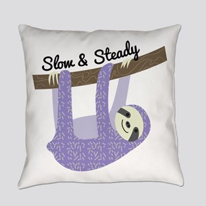 Slow & Steady Everyday Pillow