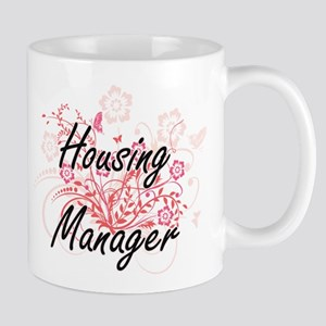 Housing Manager Artistic Job Design with Flow Mugs