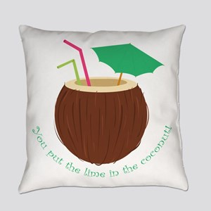 Lime In Coconut Everyday Pillow