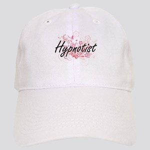 Hypnotist Artistic Job Design with Flowers Cap