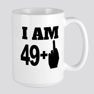 49 Years Old Middle Finger Mugs