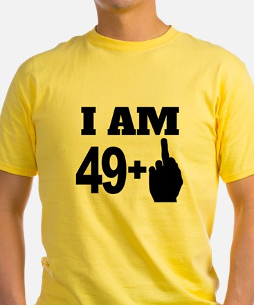 49 Years Old Middle Finger T-Shirt