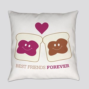 Best Friends forever Everyday Pillow