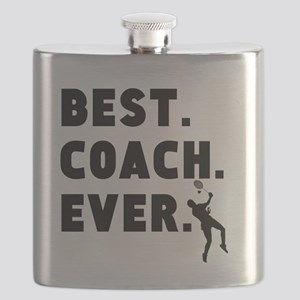 Best Coach Ever Badminton Flask