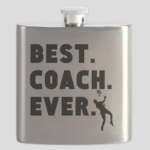 Best Coach Ever Badminton Flask