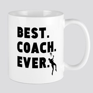 Best Coach Ever Badminton Mugs