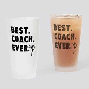 Best Coach Ever Figure Skating Drinking Glass