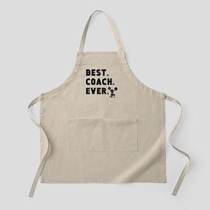 Best Coach Ever Cheerleading Apron