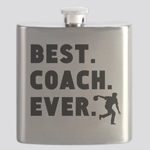 Best Coach Ever Bowling Flask