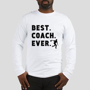 Best Coach Ever Bowling Long Sleeve T-Shirt