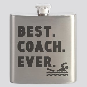 Best Coach Ever Swimming Flask