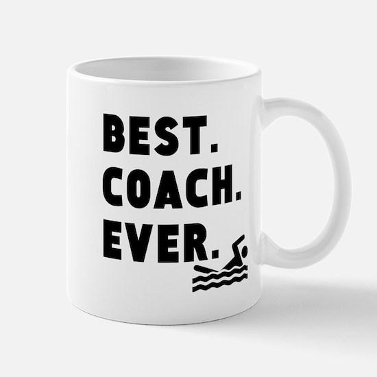 Best Coach Ever Swimming Mugs