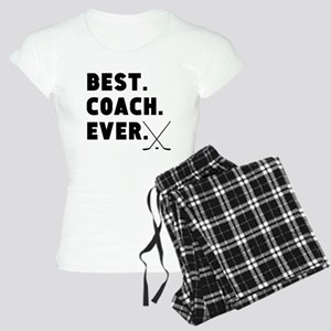 Best Coach Ever Hockey Pajamas