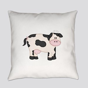 Holstein Milk Cow Everyday Pillow