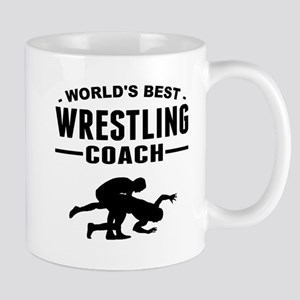 Worlds Best Wrestling Coach Mugs