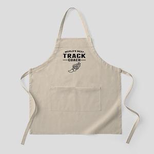 Worlds Best Track Coach Apron