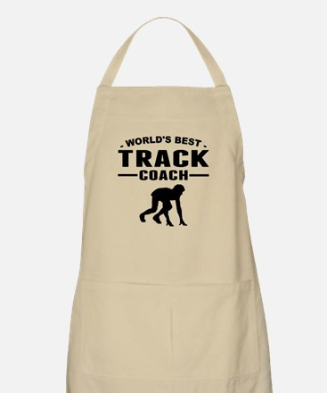 Worlds Best Track Coach Apron