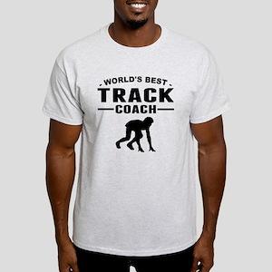 Worlds Best Track Coach T-Shirt