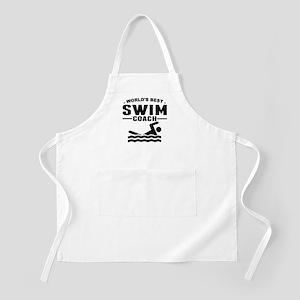 Worlds Best Swim Coach Apron