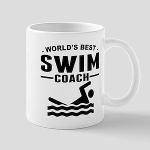 Worlds Best Swim Coach Mugs