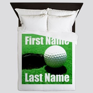 Golfball Queen Duvet