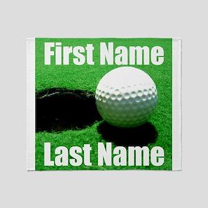 Golfball Throw Blanket