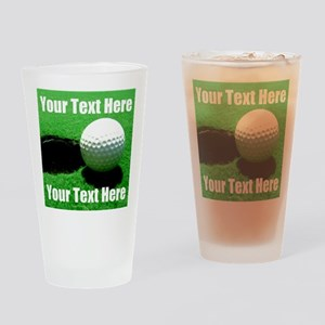 Golfball Drinking Glass