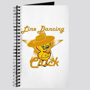 Line Dancing Chick #10 Journal
