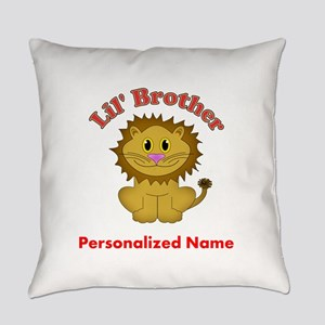 Lion Little Brother Everyday Pillow