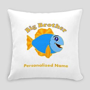 Big Brother Fish Everyday Pillow