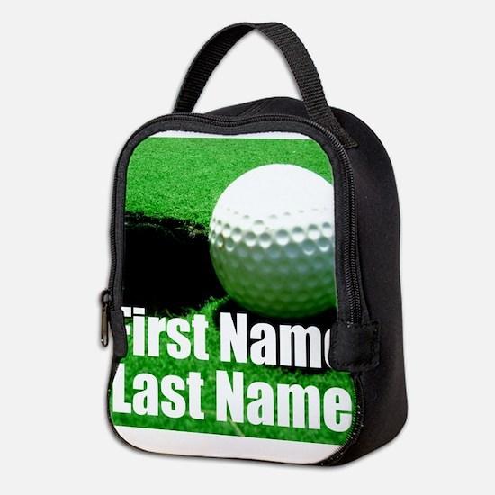 Golfball Neoprene Lunch Bag