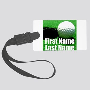 Golfball Luggage Tag